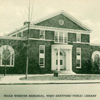 Noah Webster Memorial, West Hartford Public Library
