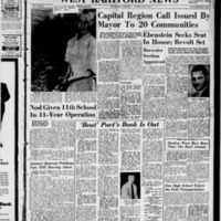 West Hartford News, vol. 15, issue 30, July 31, 1958