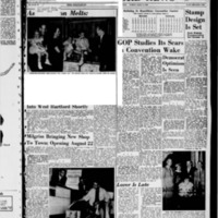 West Hartford News, vol. 15, issue 32, includes Farmington News and Bloomfield News sections, August 14, 1958