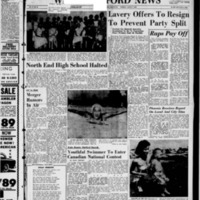 West Hartford News, vol. 15, issue 31, August 7, 1958