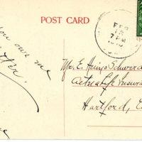 Center looking west - note sleigh - 1910 - Back.jpg