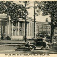 Wm. H. Hall High School 1920's - Front.jpg
