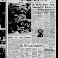West Hartford News, vol. 15, issue 41, includes Bloomfield and Farmington News sections and Bicentennial of Noah Webster Souvenier Supplement October 16, 1958