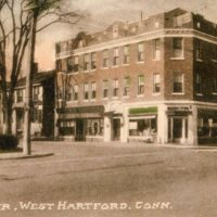 The Center, West Hartford, Conn. circa 1925