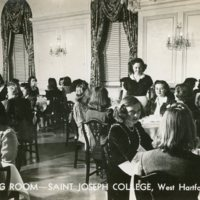 Dining Room, Saint Joseph College, West Hartford, Conn.
