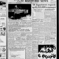West Hartford News, vol. 14, issue 51, includes Bloomfield News and Farmington News sections, December 19, 1957