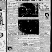 West Hartford News, vol. 15, issue 48, includes Bloomfield and Farmington News sections December 4, 1958